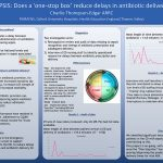 SEPSIS: Does a 'one-stop box' reduce delays in antibiotic delivery?