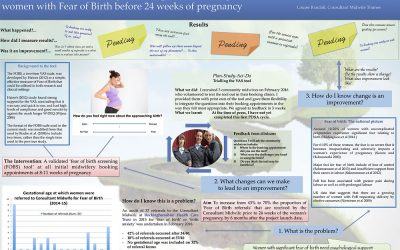 Introduction of a midwifery screening tool to identify and refer women with Fear of Birth before 24 weeks of pregnancy